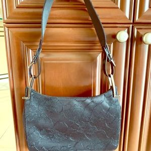 Gucci black lace evening bag